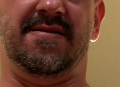 Adult meat chunk Jay Armstrong masturbating