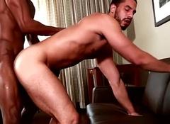 Nefarious muscle pounding black ass