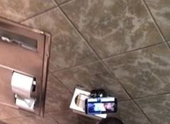 Caught rolling blunt/jacking in stall