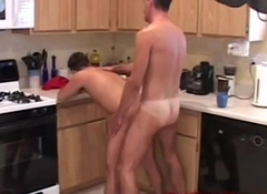 Stud is sucking in transmitted to kitchenette