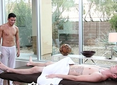ManRoyale - Liam Troy Gets His Ass Bitchy on the Massage Feed