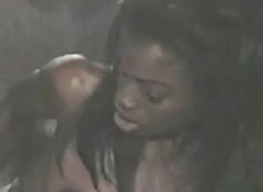 Retro Porn -Two Gorgeous Black Lesbians Fucking and Jizzing