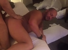 Bear muscle fuck spy