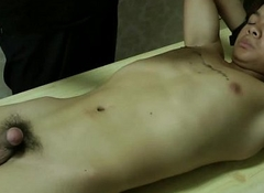 Furnish Body Asian Boy Got Hot Wax