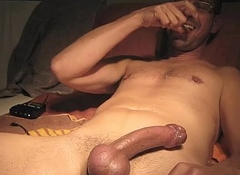Estim load licking it from fingers