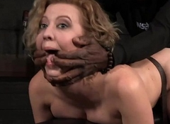 Atrocious doggystyle banging be expeditious for hawt slave while that babe gives grungy deepthroating