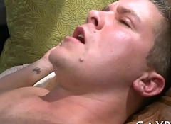 Young lesbian guys having anal sex