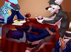 Gay Comprehensive Giving Wolf Footjob Under Provisions - YIFF Jasonafex