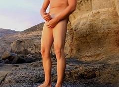 Dasilva99 rocky beach masturbation on disentangled holy day