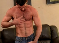 Mature dimension to Billy Santoro jerks thick meat