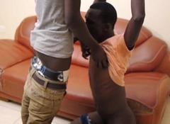 Young Dulani and Manu Be thrilled by Bareback