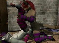 ainhanda flash (cartoon sex)