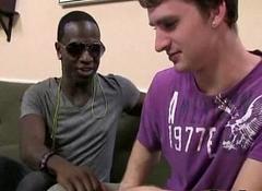 Sexy White Pal Get Gangbanged By Black Dick 03