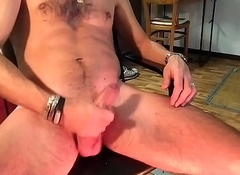 Muscled twink'_s jerk off