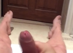 Brit lad piss and cum