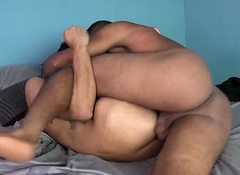 Juvenile Latinos Manny and Agustin Bareback