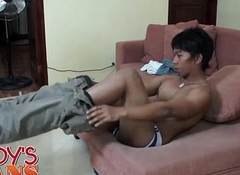 Daddy Fucks Asian Twink Hermis