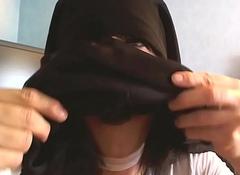 ejac en niqab