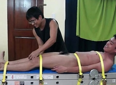 Tickled Asian Boy Lorenzo Goes Hysterical