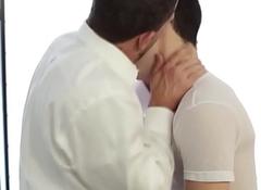 Uniform mormon spunking