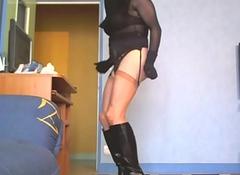niqab et porte jarretelles