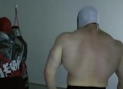 TylerMUSCLEGOD VS Steel Ivan - Wrestling Domination
