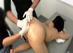 Anal left side bonking experiments at the clinic
