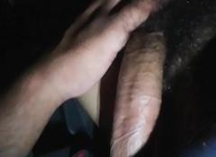 Black crossdresser giving me a blowjob