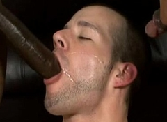 Skinny white guys screwed at the end of one's tether gay blacks 03