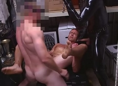 Straightbait hunk fucked by pawnbrokers