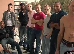 Bukkake Boyz - Extreme Bareback Gay Pornography 27