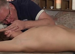 Dextrous uses candle wax involving make the bound youngster embarrassing