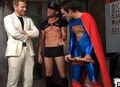 Superhero Elated Facsimile Teamed
