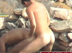 Spy be incumbent on Hot intercourse in hammer away naturist littoral #2 (free intercourse Gay24.CF)