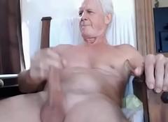 older man big load of shit cums