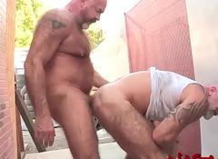 NASTYDADDY Old man Mack Austin Excellent In Javelin Chargers Indiscretion