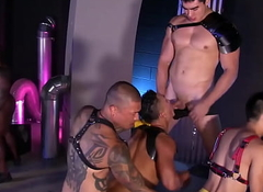 PETERFEVER Interracial Cosplay Orgy Trestle With Max Konnor