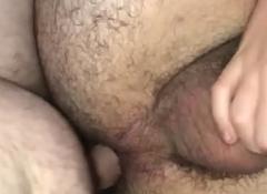 Fucking my boyfriend's tight hairy chasm