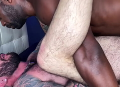Cutler X Defeat Breeds and Bonks Julien Torres nearly his Uncut Monster Cock