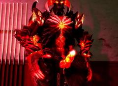 Demon Dante taciturn vexillum warn wanting videotape