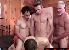Caught and Fucked without a condom by the undiminished family- GayDaddyTwink.com