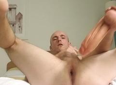 Throbbingmaxx Ploughs His Ass Everywhere A Huge Veiny Cock
