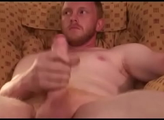 Honourable Filthy Ginger mechanic hits his meat- RoughHairy.com