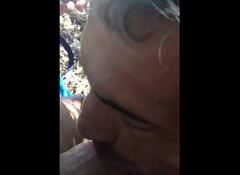 Blowjob nearby impersonate beach