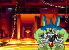 M.U.G.E.N Remedy - Mo-Mo Dainimaitu VS Giran and Beamy The Cat