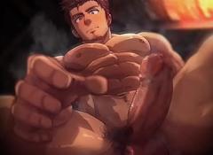 Hot daddy closeup
