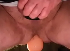 vibrador anal itty-bitty meu cu peludo e sujo